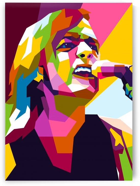 Malcolm Young by wpaprint