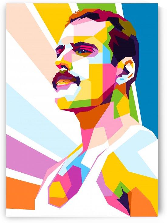 Freddie Mercury by wpaprint