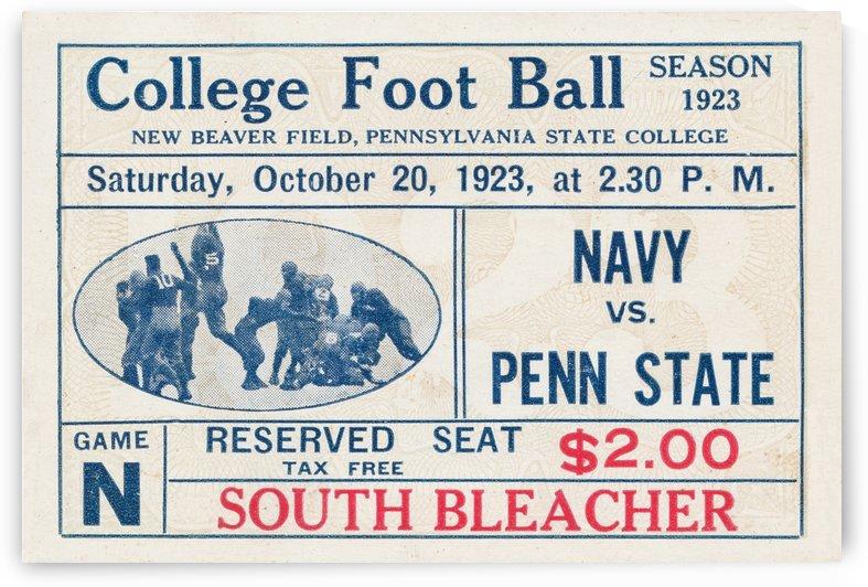 1923 Navy vs. Penn State by Row One Brand