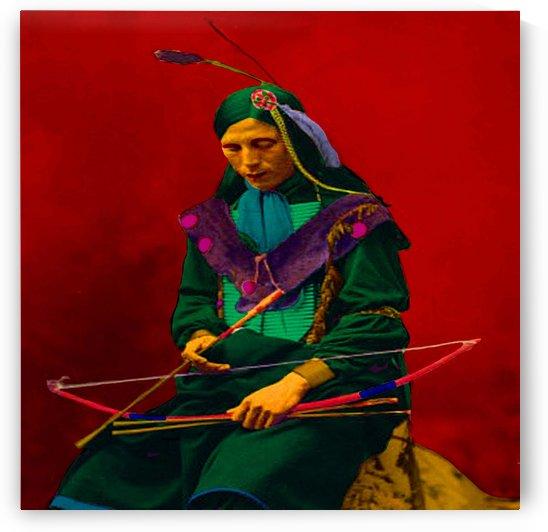 Cherokee Indian Pop Art by Matthew Lacey