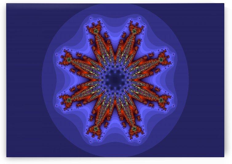 Fractal Pattern 6 by Matthew Lacey