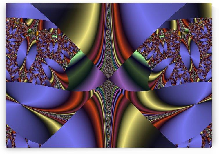 Fractal Pattern 11 by Matthew Lacey