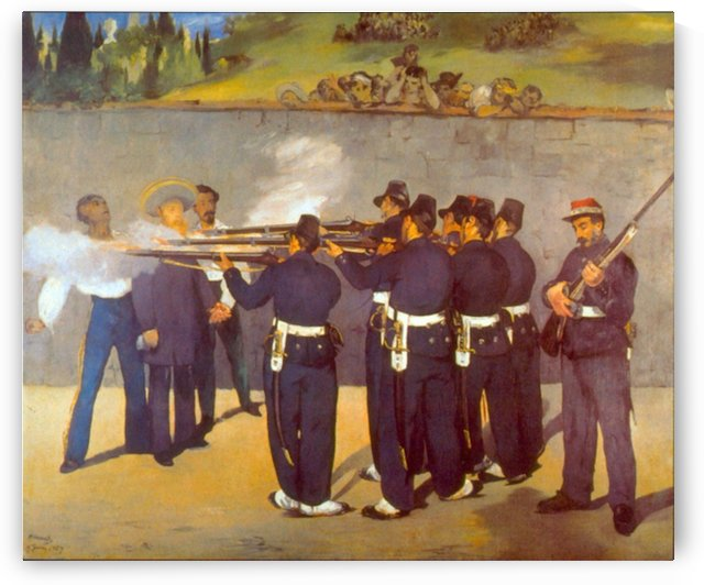 Execution by Manet by Manet