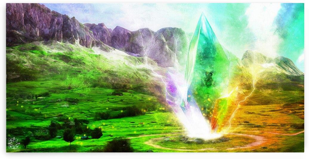 The Crystal of Dodona by ChrisHarrisArt