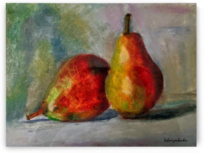 Pears by Aurelia Schanzenbacher Sisters Fine Arts