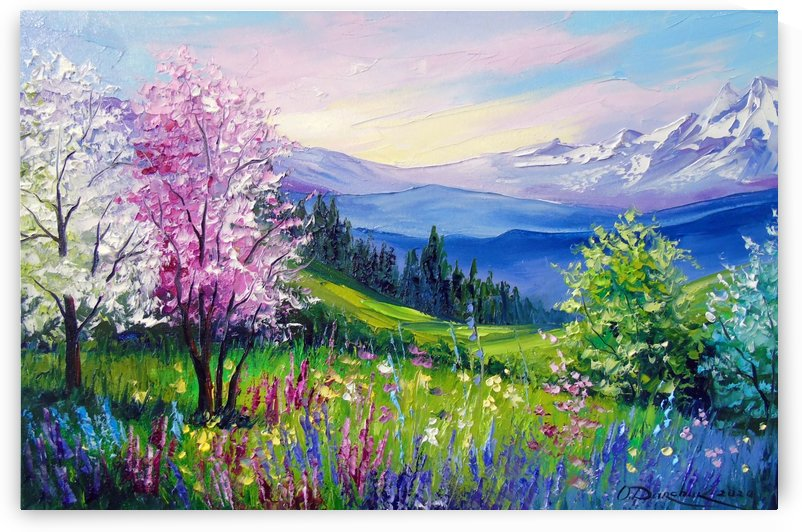Spring in the Alps by Olha Darchuk