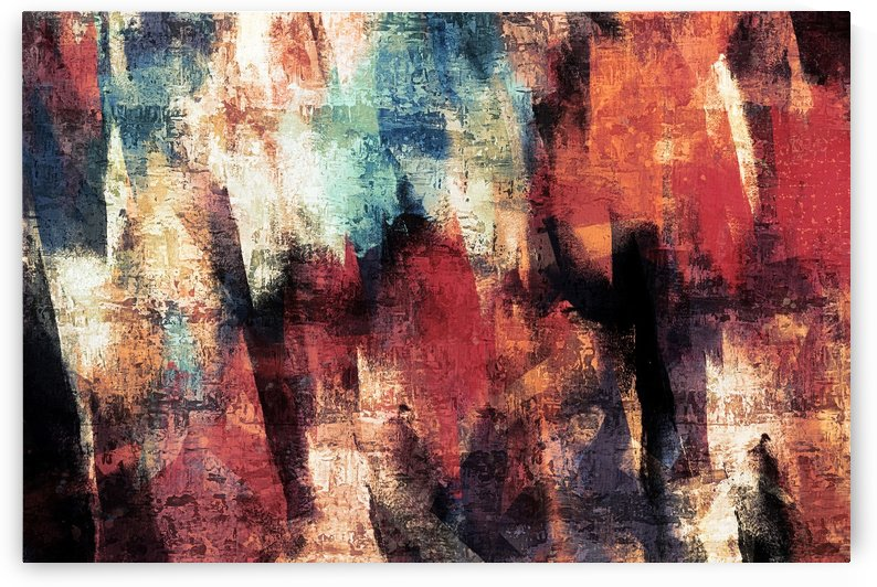 Acrylic Digital Painting nº 01 by Adriano Oliveira