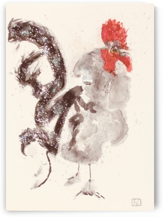 Portuguese Rooster by Zaramar Paintings