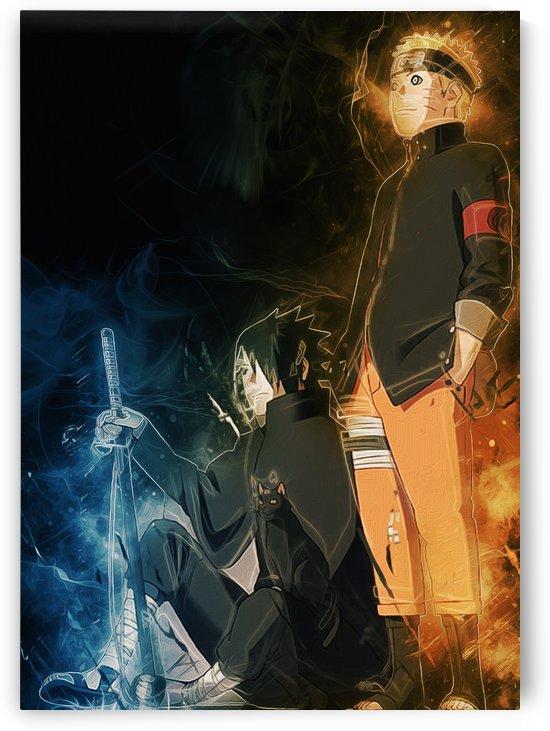 Naruto and Sasuke by Coolbits Artworks