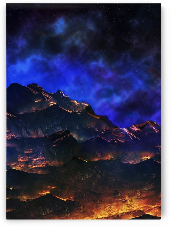 Venus Night Landscape by Artistic Paradigms