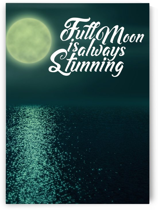 Full Moon is always Stunning by Artistic Paradigms