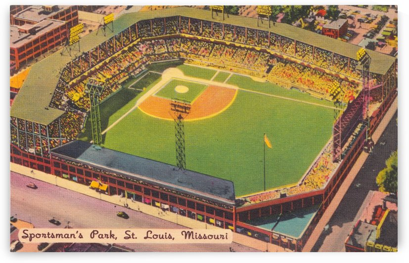 1932 Sportsman Park St. Louis by Row One Brand