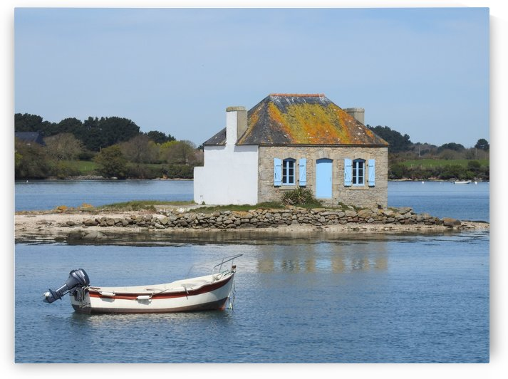 house saint Cado Bretagne by James Cool