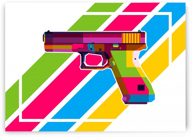 Glock Handgun by wpaprint