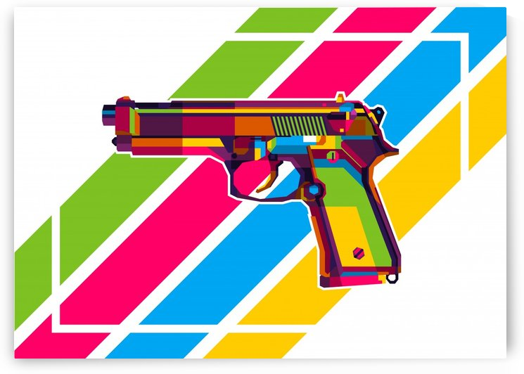 Classic Handgun by wpaprint