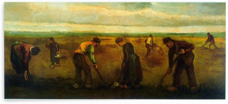 Farmers by Van Gogh by Van Gogh