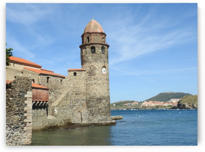 Collioure south of France by James Cool