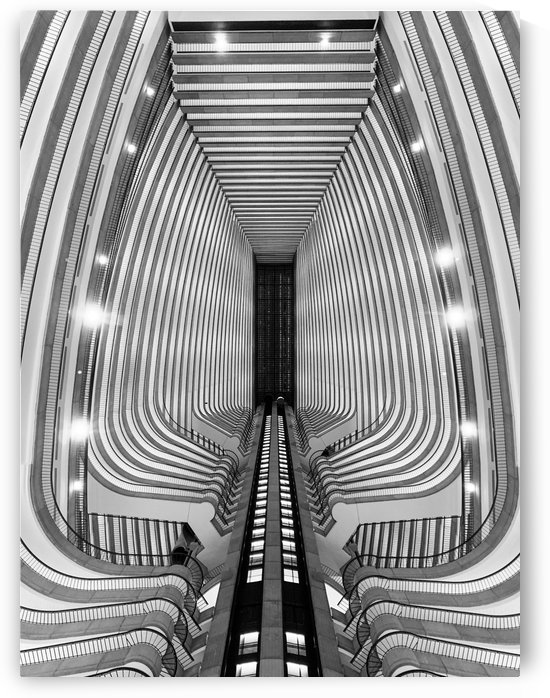 Marriott Marquis 1 by Victor F Rodriguez Jr