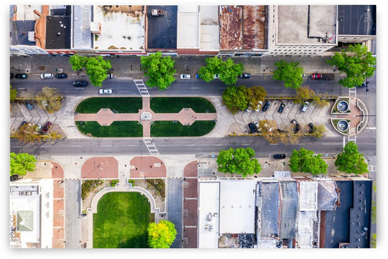 Augusta   James Brown Statue Aerial View 0440 by @ThePhotourist