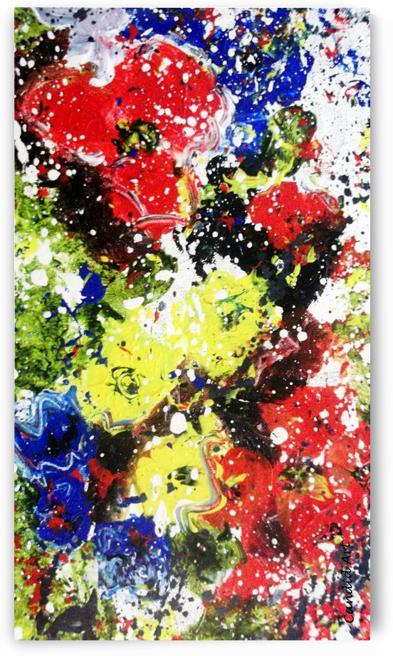 Primary Blossom 1 by Candid Art