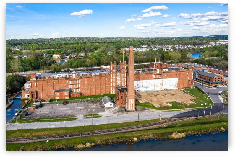 Sibley Mill Augusta Aerial View 0448 by The Photourist - Sanjeev Singhal