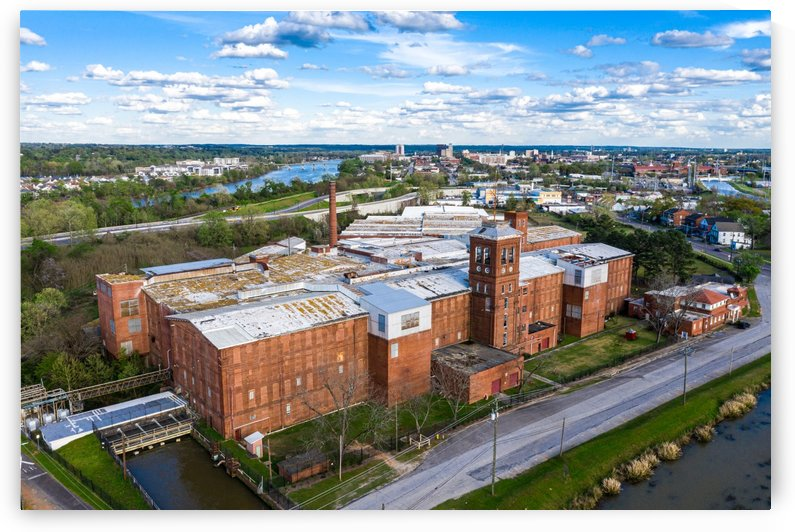 Kings Mill Augusta Aerial View 0457 by The Photourist - Sanjeev Singhal