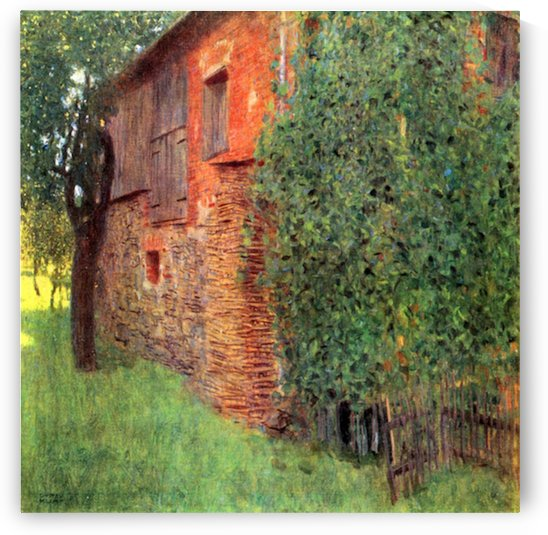 Farmhouse in Chamber in Attersee by Klimt by Klimt
