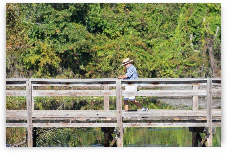Cigar Smoker at Brick Pond Park   North Augusta 8736 by @ThePhotourist