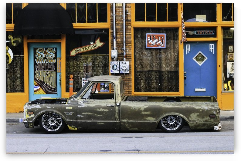 C10 parked 1 copy by Lindsay Warren