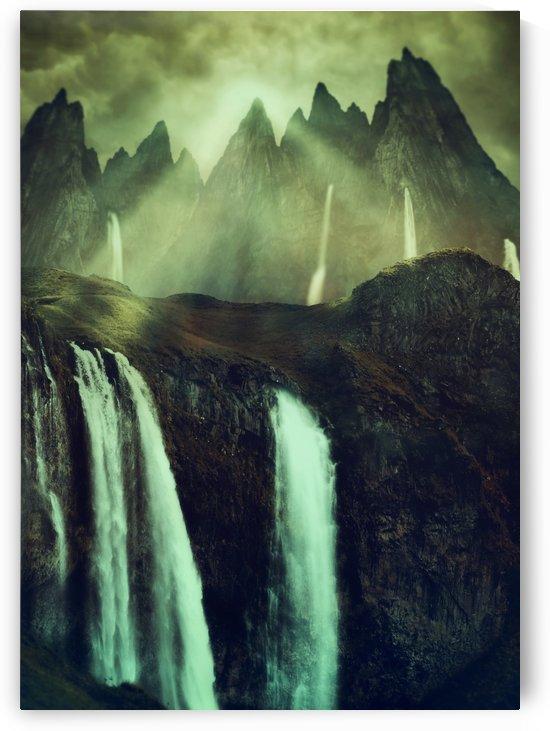 Fantasy Paramount Waterfalls by Artistic Paradigms