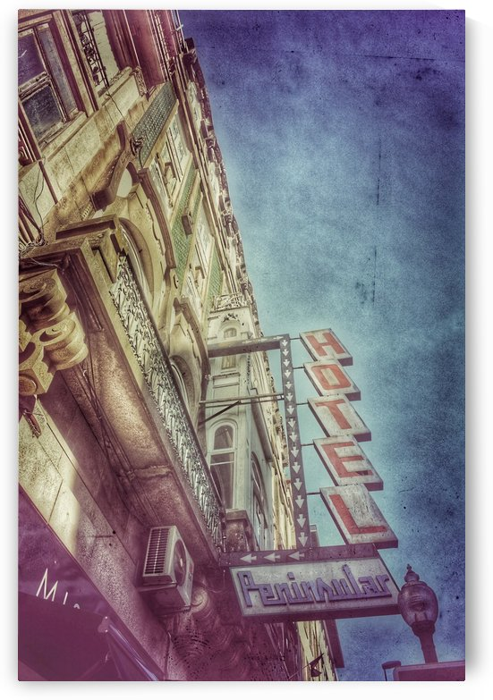 Old Hotel Porto Portugal by JTPhoto