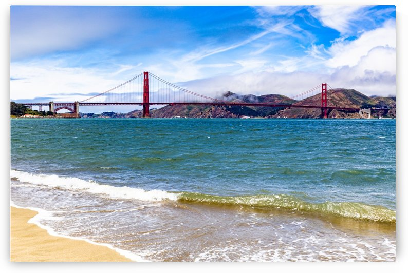 Golden Gate Bridge from Crissy Field 1990 by @ThePhotourist