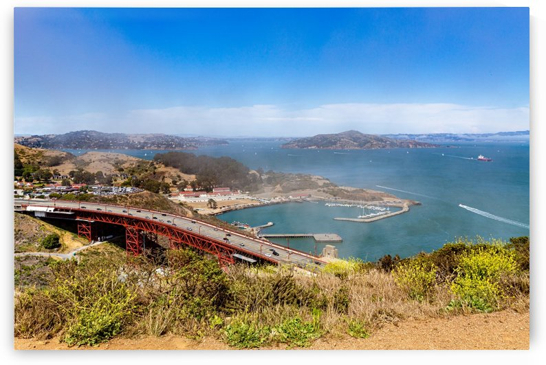 Golden Gate Bridge and Horseshoe Bay 1789 by The Photourist - Sanjeev Singhal
