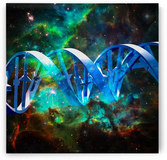 Space DNA by Bruce Rolff