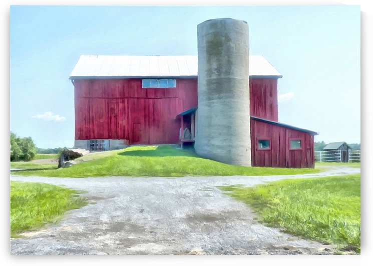 A Farm With Some Charm by Leslie Montgomery