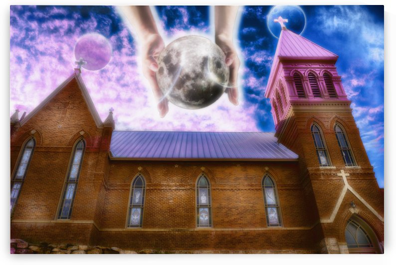 The Hands of God Church by Allan Castle
