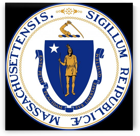 Massachusetts Commonwealth Great Seal by Fun With Flags