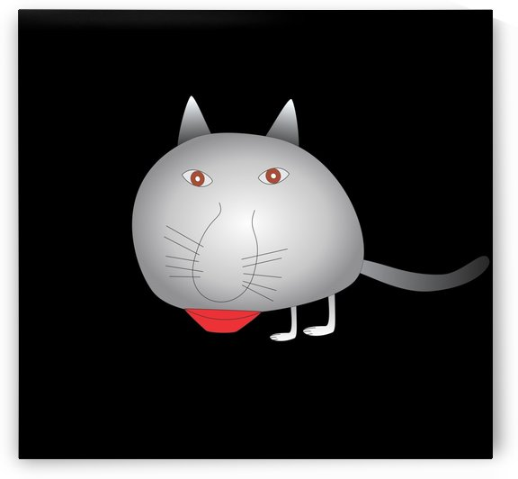Chat Cat by Createm