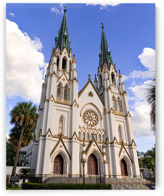 Cathedral of St. John the Baptist   Savannah 03316 by @ThePhotourist