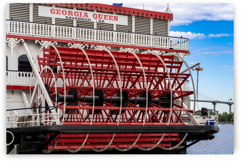 Georgia Queen Riverboat   Savannah 04083 by The Photourist - Sanjeev Singhal
