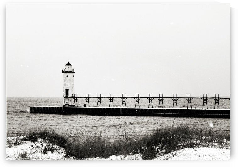 Lighthouse on the Lake by C  McGowen