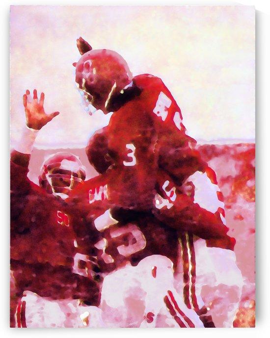 1986 Oklahoma Football Derrick Shepard TD by Row One Brand