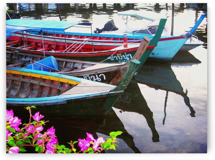 Thai Boats by C  McGowen