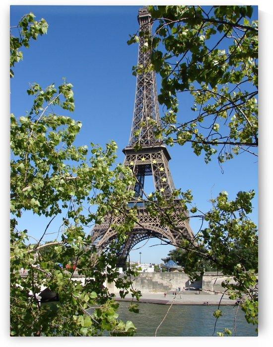Eiffel Tower Paris France by James Cool