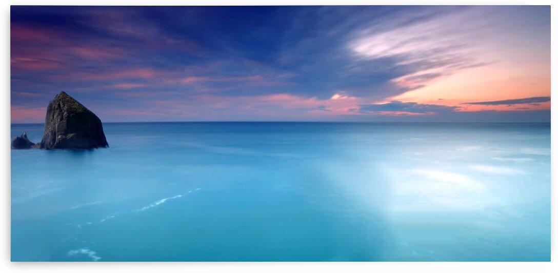 Morning by the ocean by Radiy Bohem