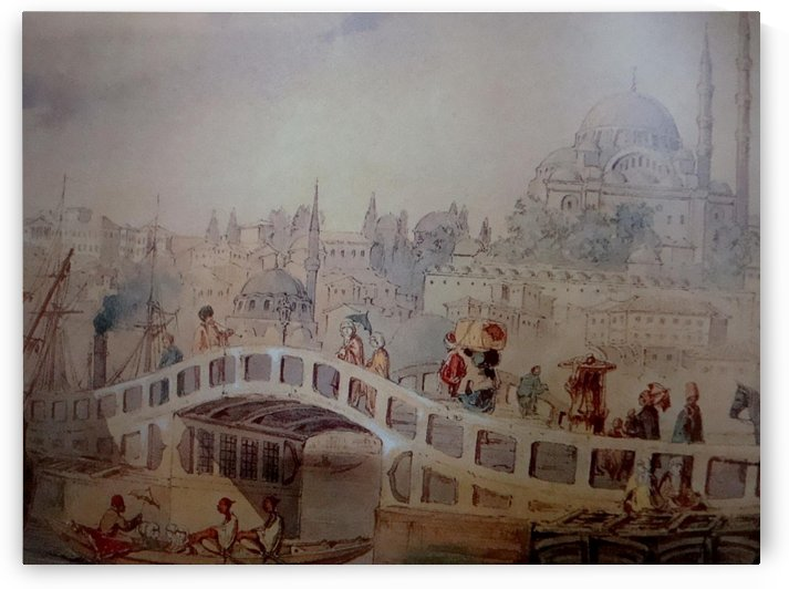Crossing the bridge by Amadeo Preziosi