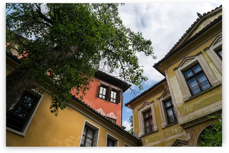 Old Town Plovdiv - Hugging Revival Houses by GeorgiaM