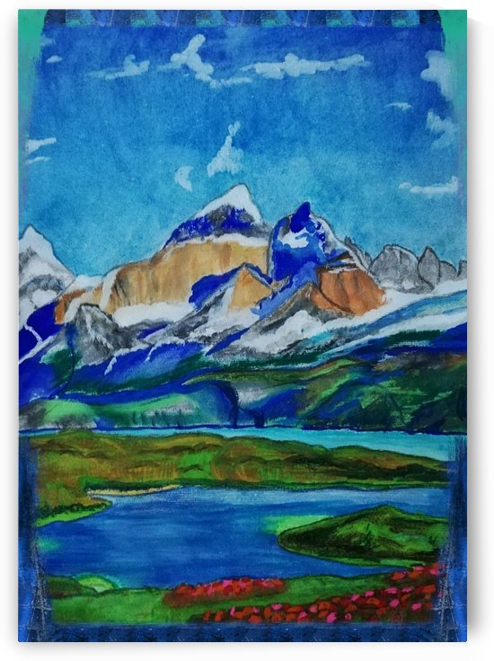 Mountains by Misbah ali