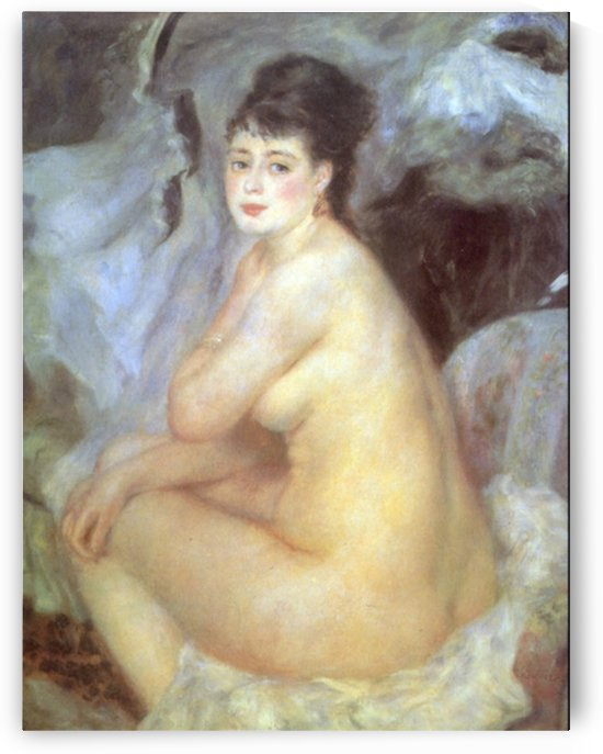 Female Nude by Renoir by Renoir