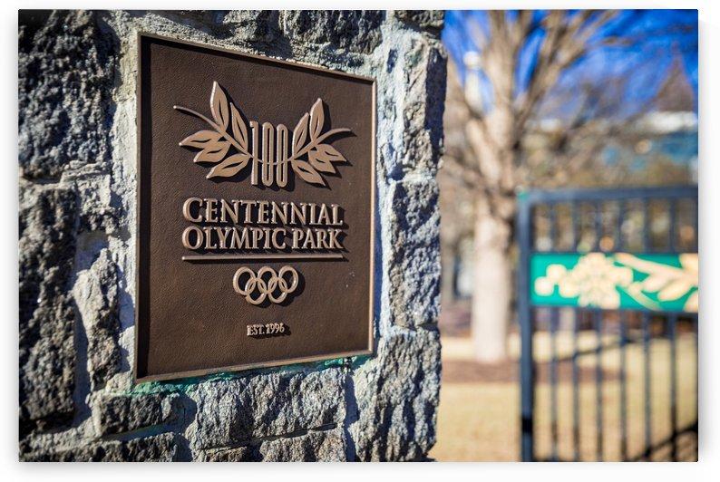 Centennial Olympic Park Sign Atlanta 1928 by @ThePhotourist
